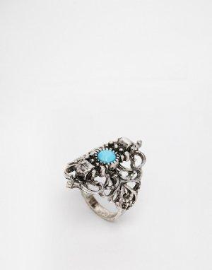 Перстень с филигранью ASOS