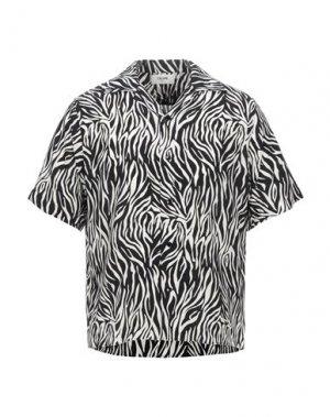 Pубашка CELINE. Цвет: черный