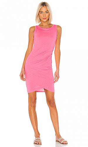 Платье-майка Bobi. Цвет: розовый