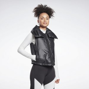 Жилет Outerwear Synthetic Down Puffa Reebok. Цвет: black