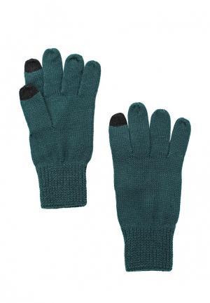 Перчатки Topman. Цвет: зеленый