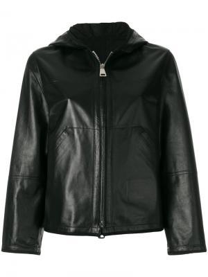 Куртка на молнии с капюшоном Sylvie Schimmel. Цвет: черный