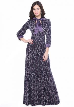 Платье Olivegrey MALFOYA. Цвет: синий