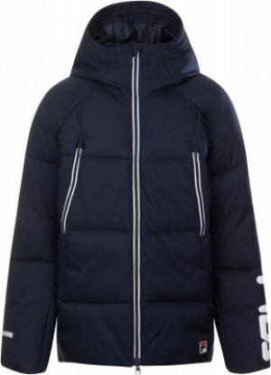 Куртка утепленная для мальчиков , размер 176 FILA. Цвет: синий