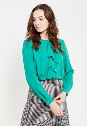 Блуза Dlys D'lys. Цвет: зеленый