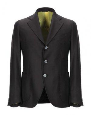 Пиджак GABO Napoli. Цвет: темно-коричневый