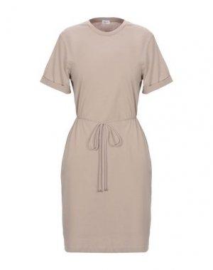 Короткое платье FILIPPA K. Цвет: песочный