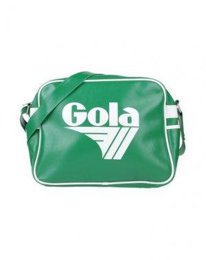 Сумка через плечо GOLA. Цвет: зеленый