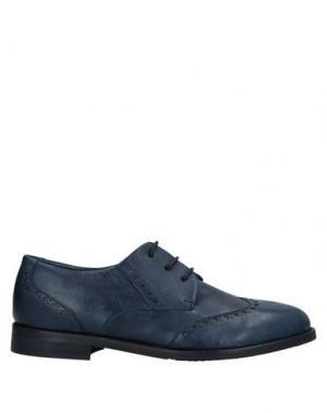 Обувь на шнурках ALEXANDER HOTTO. Цвет: темно-синий