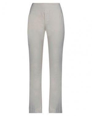 Повседневные брюки EUROPEAN CULTURE. Цвет: слоновая кость