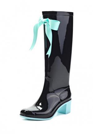 Резиновые сапоги Boomboots. Цвет: голубой