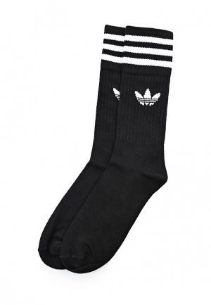Комплект adidas Originals SOLID CREW SOCK. Цвет: черный