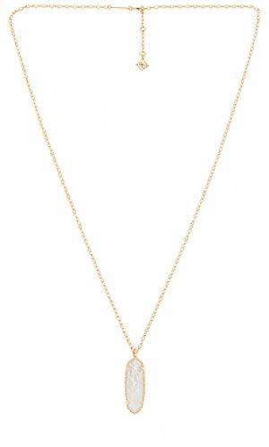 Ожерелье layla Kendra Scott. Цвет: металлический золотой