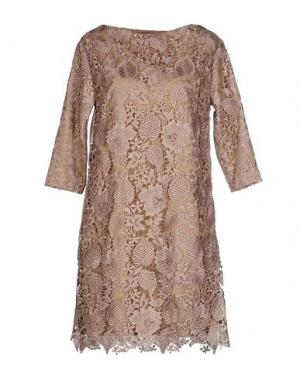 Короткое платье INTROPIA. Цвет: хаки