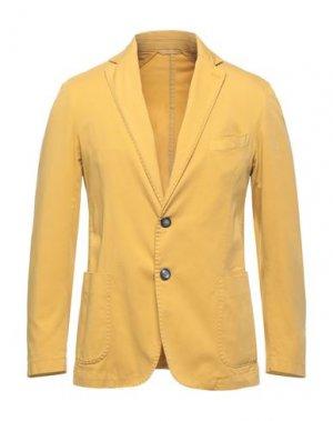 Пиджак EXIGO. Цвет: охра