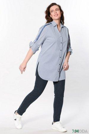 Классические джинсы Elena Miro. Цвет: синий