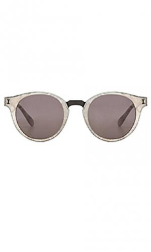 Солнцезащитные очки amalfi illesteva. Цвет: серый
