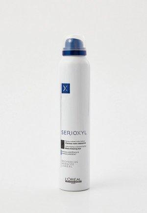 Консилер LOreal Professionnel L'Oreal камуфляж цветной Serioxyl черный, 200 мл. Цвет: черный