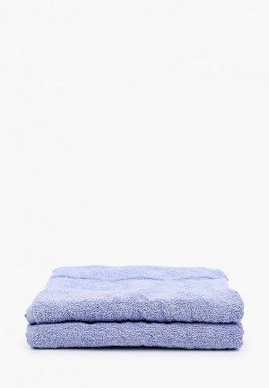 Набор полотенец Эго 2 шт., 50х85 см. Цвет: фиолетовый
