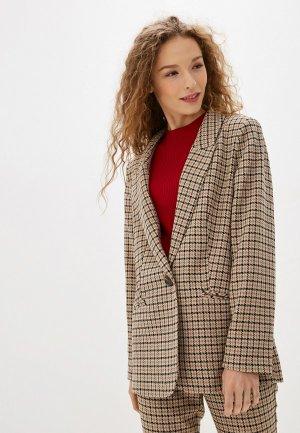 Пиджак Argent. Цвет: коричневый
