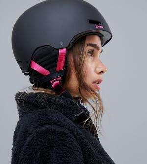 Черный защитный шлем Greta Anon. Цвет: черный