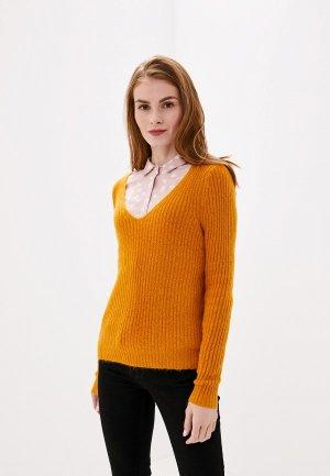 Пуловер Vila. Цвет: оранжевый