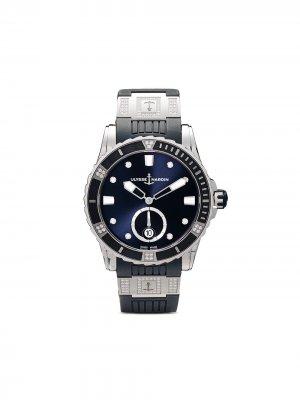 Наручные часы Marine Torpilleur Chronograph 45мм Ulysse Nardin. Цвет: голубой