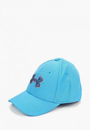 Бейсболка Under Armour Boys Blitzing 3.0 Cap. Цвет: голубой