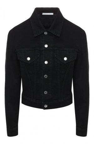 Джинсовая куртка Helmut Lang. Цвет: черный