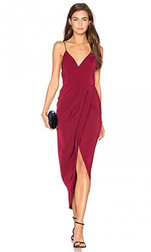 Коктейльное платье с запахом core Shona Joy. Цвет: фиолетовый