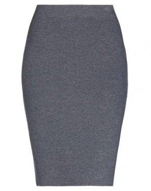 Юбка до колена IRIS VON ARNIM. Цвет: грифельно-синий