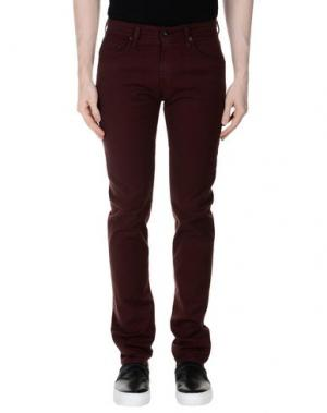 Повседневные брюки AG JEANS. Цвет: какао