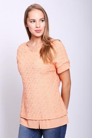 Пуловер Frank Walder. Цвет: оранжевый