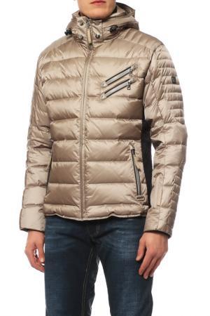 Куртка горнолыжная Bogner. Цвет: пудровый