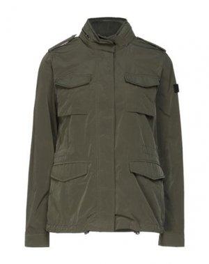 Куртка HETREGO'. Цвет: темно-зеленый