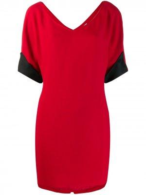 Платье-футболка мини Gianfranco Ferré Pre-Owned. Цвет: красный