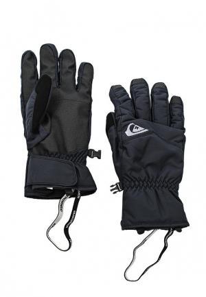 Перчатки Quiksilver Cross Glove. Цвет: черный