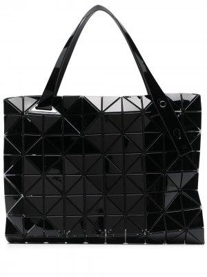 Геометричная сумка-тоут Bao Issey Miyake. Цвет: черный