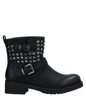 Полусапоги и высокие ботинки ANA LUBLIN. Цвет: черный