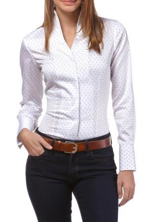 Рубашка Vincenzo Boretti. Цвет: white, blue
