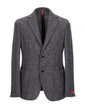 Пиджак ERNESTO. Цвет: серый