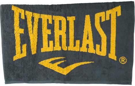 Полотенце махровое , 130 х 70 см Everlast. Цвет: серый