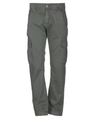 Повседневные брюки ALPHA INDUSTRIES. Цвет: стальной серый