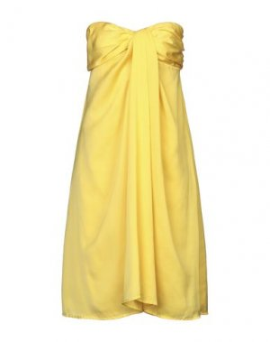 Короткое платье G.SEL. Цвет: желтый