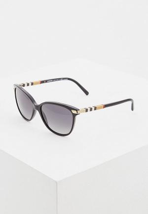 Очки солнцезащитные Burberry BE4216 3001T3. Цвет: черный