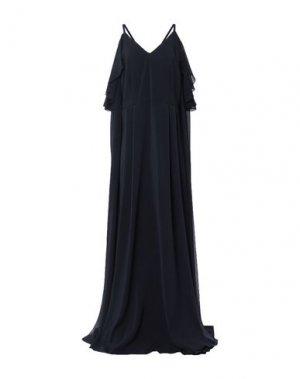Длинное платье ALESSANDRO LEGORA. Цвет: черный