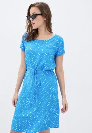 Платье Fresh Made. Цвет: голубой