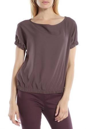 Блузка CAMOMILLA ITALIA. Цвет: коричневый