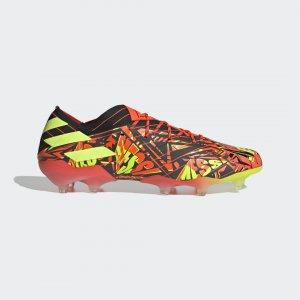 Футбольные бутсы Nemeziz Messi.1 FG Performance adidas. Цвет: красный
