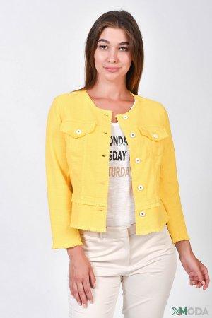 Жакет Marc Aurel. Цвет: жёлтый